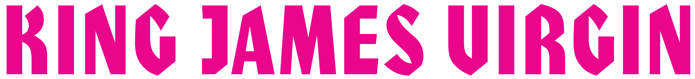 Logo for The King James Virgin